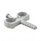 Скоба двустранна с дюбел FRIULSIDER 51502 ф10/8х30мм, пластмасова, 100бр. в кутия - small, 140135
