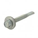 Винт за метал DEKPAX DIN7301 b12 5.5x32мм, шест. глава, с неопр. шайба, самопробивен, 300бр. в кутия - small, 117305