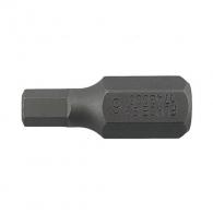 Накрайник шестограм за ударна отвертка FORCE 4.0x30мм, C10, S2