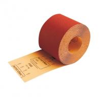 Шкурка на руло SMIRDEX DUROFLEX 330 116мм P120, за масивна дървесина и фурнир, хартиена основа, червена