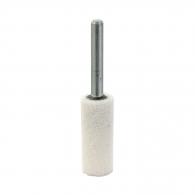 Абразивен шлайфгрифер SWATYCOMET 16х40х6мм, форма OB-цилиндър, цвят бял, 22А