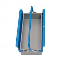 Куфар за инструменти UNIOR 550х215х130мм, метален, 1 дръжка, 1 отделение
