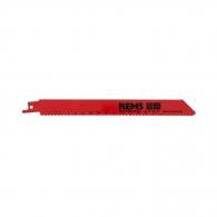 Нож за ел.ножовка REMS 1.8x200/180мм, метал и неръждаема стомана, HSS-Bi, захват универсален