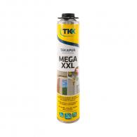 Пяна полиуретанова TKK Tekapur Mega XXL 840мл, пистолетна, всесезонна (над -5°C)