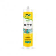 Силикон ацетатен TKK Tekasil Acetat, 280мл, кафяв