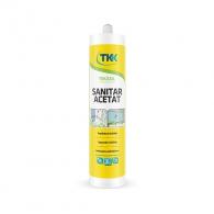 Силикон санитарен ацетат TKK Tekasil Sanitar Acetat 280мл, прозрачен