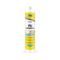 Универсално лепило TKK Tekafiks PU Universal, 300мл, водоустойчиво, увеличава обема си до 10%