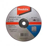 Диск карбофлексов MAKITA 230х6.0х22.23мм, за шлайфане на метал