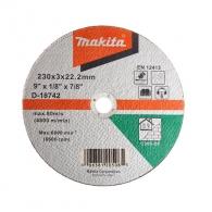 Диск карбофлексов MAKITA 230x3.0x22.23мм, за рязане на неметал