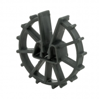 Фиксатор NIDEX Omega 20/4-12, кръгъл пластмасов за вертикална армировка
