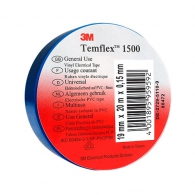 Изолирбанд 3M TEMFLEX 1500 19х1.5мм/20м-син