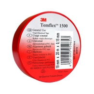 Изолирбанд 3M TEMFLEX 1500 19х1.5мм/20м-червен