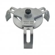 Ключ за капак на резервоар UNIOR 120-155мм, въглеродна инструментална стомана