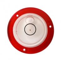 Кръгъл нивелир KAPRO 240 Surface Level, 40мм, с червен пласмасов корпус
