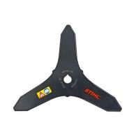 Нож за косене STIHL 300х20.0мм, тристранен, за подрязване на жилава трева, гъсталаци и храсти