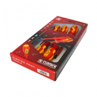 Отвертки комплект NAREX PROFI ELECTRO LINE 5части, 1000V, PH, SB, еднокомпонентна дръжка