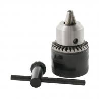 Патронник с морзов конус RAIDER RD-KC04 1.0-13мм, В16мм, стоманен, с ключ