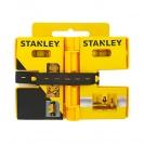 Пластмасов нивелир STANLEY, за центриране на колони, с три либели, магнитен - small, 100097
