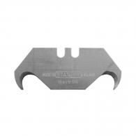 Резервно острие за макетен нож STANLEY 1996 50х20мм 5броя, трапецовиден, кукоподобен, 5бр в блистер