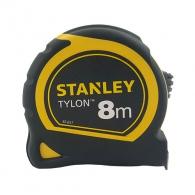 Ролетка пласмасов корпус STANLEY 8м х 25мм, гумирана, EC-клас 2