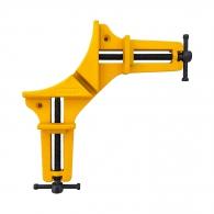 Стяга дърводелска ъглова STANLEY 90°, дуралуминиева сплав, работна дължина 75мм