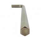 Ключ Г-образен удължен UNIOR 12мм, шестостен, никелиран, закален, CrV - small, 44278