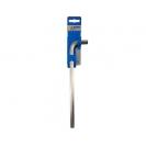 Ключ Г-образен удължен UNIOR 12мм, шестостен, никелиран, закален, CrV - small, 44279