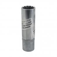 Вложка за свещ FORCE 1/2'' 16/70мм, дванадесетостен, CrV, с магнит