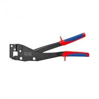 Клещи за съединяване на ламарина KNIPEX 340мм, макс. 1.2мм (2x0.6мм), двукомпонентна дръжка