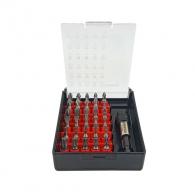 Комплект накрайници FORCE 31части, PH, PZ, SB, TX, шестостен с магнитен държач