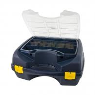 Куфар за инструменти TAYG 43, полипропилен, син, с разделители