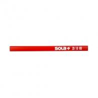 Молив дърводелски SOLA ZB 17.5см, твърдост на графита HB, липово дърво
