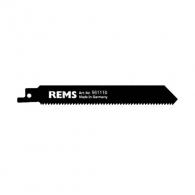 Нож за ел.ножовка REMS 2.5х150/130мм, дървесина, метал, HSS-Bi, захват универсален