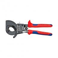 Ножица за кабели KNIPEX 250мм, ф32мм, автоматична, двукомпонентна дръжка