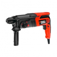 Перфоратор BLACK&DECKER KD855KA, 550W, 0- 960об, 0-5100уд/мин, 1.6J, SDS-plus