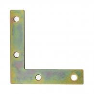 Планка DOMAX NA 5, 50х50х10x2.0мм, ъглова, кадмирана, 50бр. в опаковка