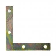 Планка DOMAX NA 7, 75х75х12x2.0мм, ъглова, кадмирана, 50бр. в опаковка
