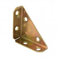 Планка триъгълна DOMAX NS 50 50х16х50х1.5мм, кадмирана, 10бр. в опаковка