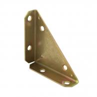 Планка триъгълна DOMAX NS 75 75х20х75х2.0мм, кадмирана, 10бр. в опаковка