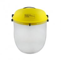 Шлем предпазен DECOREX 25см, прозрачен, поликарбонат