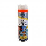 Спрей маркиращ TKK Tekasol Marking Spray, червен, 500мл