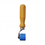 Валяк с тефлона ролка за заглаждане HERZ 28х33мм, за работа с горещ въздух, еднораменна дръжка