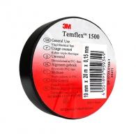 Изолирбанд 3M TEMFLEX 1500 19х1.5мм/20м-черен