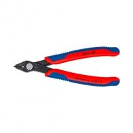 Клещи резачки KNIPEX ф0.2-1.6/125мм - мини, CS, двукомпонентна дръжка