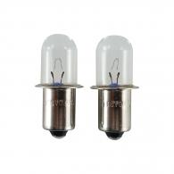 Крушка електрическа MAKITA 18V, 5W, 0.6A, за ML180, ML181, ML185, BML185, 2бр к-кт