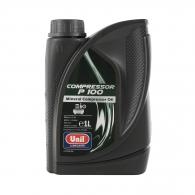 Масло компресорно Unil Compressor P100 1л, минерално, за бутални компресори, ISO100, DIN51506, VB, VC, VD-L
