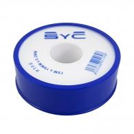 Тефлонова лента SYC 19х0.2мм/15м, за уплътняване на резби