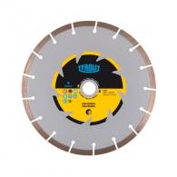 Диск диамантен TYROLIT BASIC 230x2.6x22.23мм, за бетон, гранит, тухла и естествен камък, сухо рязане