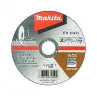Диск карбофлексов MAKITA 125х1.0х22.23мм, за рязане на неръждаема стомана