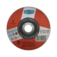 Диск карбофлексов TYROLIT BASIC 125х1.0х22.23мм, за рязане на неръждаема стомана